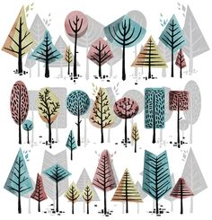 Orchard by Gavin Rutherford, via Behance