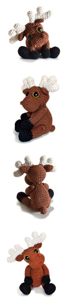 Mostyn The Moose Amigurumi Pattern