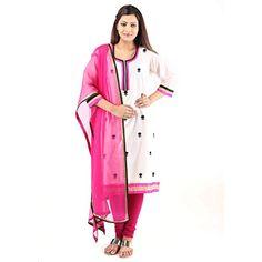 Damyantii Chanderi White Kurti For Women 48 Damyantii http://www.amazon.in/dp/B00TU01S8O/ref=cm_sw_r_pi_dp_8pY-ub0ZFKEM9
