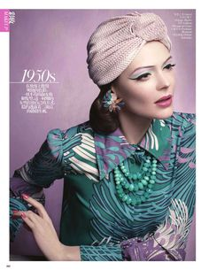 Kinga Rajzak Models Beauty Through the Decades for Vogue Chinas May Issue | Fashion Gone Rogue: The Latest in Editorials and Campaigns