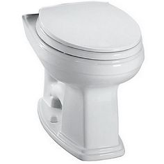 Toto Promenade Elongated Toilet Bowl Only in Cotton White
