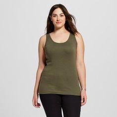 c12bd2f9be4 Women s Plus Size Perfect Tank - Ava  amp  Viv™    gt  CLICK