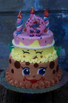 Shopkins Cake - Cake by QuilliansGrill