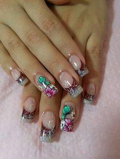 Beauty Nails, Hair Beauty, Trendy Nails, Toe Nails, Summer Nails, Nail Designs, Nail Art, Best Nails, Multicolored Nails