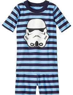 182d321a30 Star Wars™ Stormtrooper Short John Pajamas from  HannaAndersson. Disney Pjs