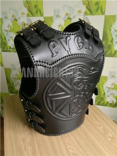 Biker Leather, Leather Tooling, Leather Jacket, Biker Costume, Biker Vest, Body Armor, Motorcycle Gear, Custom Leather, Leather Accessories