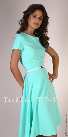Платья ручной работы. Ярмарка Мастеров - ручная работа. Купить Платье Мята  арт.5323 205ca7dcdac