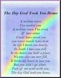 Discover and share Missing Mom In Heaven Quotes. Explore our collection of motivational and famous quotes by authors you know and love. Miss Mom, Miss You Dad, Quotes Rainbow, Rainbow Sayings, Rainbow Poem, Rip Daddy, Missing Daddy, Missing Someone Who Passed Away, Missing Dad In Heaven