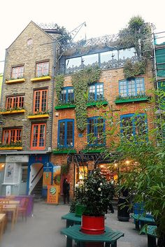 London, Covent Garden The Stand, Neal's Yard