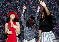 #photobooth backdrop idea : love this 80's paint splatter backdrop from BKBooth! photo booth good times 80's party #120