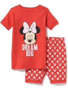 2-Piece Disney© Graphic Sleep Set for Toddler & Baby