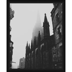 Ptm Images,Gotic Church, Black
