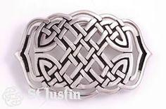 Celtic Weave Knot Belt Buckle made in the U.K.