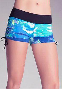 Ember Side Shirred Shorts