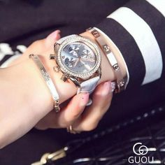 NEW ARRIVAL!   GUOU Quartz Watch...   http://www.zxeus.com/products/guou-quartz-watch-luxury-fashion-ladies-wrist-watch-rhinestone-leather-casual-dress-women-watch-chronograph-relogio-bayan-saat?utm_campaign=social_autopilot&utm_source=pin&utm_medium=pin