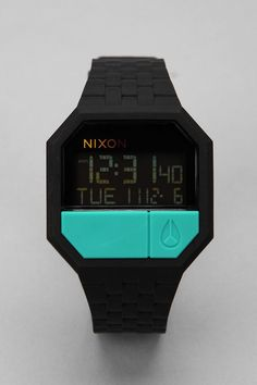 Nixon Rubber Re-Run Watch    $90.00
