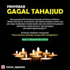 """Media Dakwah di Instagram """". Salah satu tips agar dimudahkannya seseorang untuk melakasanakan tahajjud ialah, dengan tidak melakukan perbuatan dosa di siang hari dan…"""""""