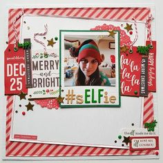 Hello, Karen here with a layout to share using the wonderful Cozy & Bright collection from Pebbles Inc. This is a Christmas themed collecti. Merry Little Christmas, Christmas Paper, Winter Christmas, Christmas Themes, Christmas Ornaments, Scrapbook Christmas Cards, Scrapbook Paper Crafts, Scrapbooking Ideas, Scrapbook Layout Sketches