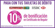 Suburbia - bonificacion del 10% con debito de bancos seleccionados