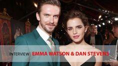Emma Watson and Dan Stevens