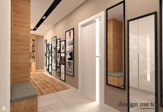 Door Design, House Design, Living Room Decor, Living Spaces, Corridor Design, Hallway Inspiration, Pinterest Design, Bedroom Apartment, Interior Lighting