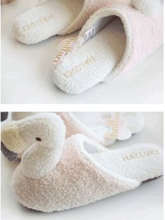 dab8388a2ee4 Flamingo Bird Fluffy Slippers✨☀ ✨ I hope it will bring you some warmth