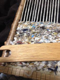 ひがな羊毛紡ぎ