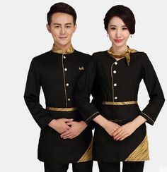 what does an upscale servant or cleaner wear? - hotel waiter uniform(China (Mainland))