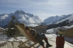 Terrasse #architecture #alps #hotel #chalet #apartment #alps Architekt: HolzBox Tirol, Foto: Gerda Eichholzer Outdoor Gear, Mount Everest, Tent, Mountains, Nature, Travel, Design, Photos, Apartments