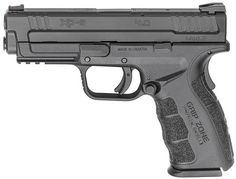 SPRINGFIELD XD MOD.2 9MM 4.0 BLACK HOLIDAY PACKAGE