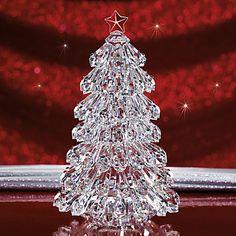 Glisten & Shine Christmas Tree Figurine by Lenox #SolutionsPinIt