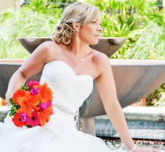Colorful Bride. Bridal Makeup. Wedding. #BSBMakeup. #BSBBride.