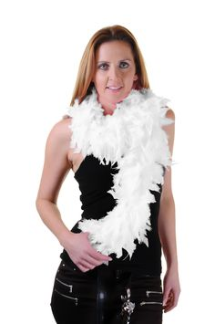 White Feather Boa High Quality