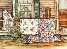 *Grandma's Bible quilts by Paula Vaughan*