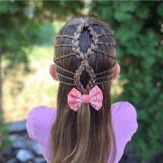 "989 Likes, 10 Comments - Little Girl Hairstyles (@braidsforlittlegirls) on Instagram: ""Love this gorgeous style done by @hairstylesbynatalie #braidsforlittlegirls"""