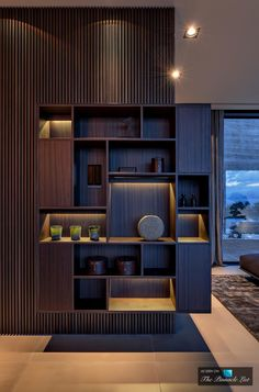 Villa Boscana Luxury Residence – Son Vida, Mallorca, Spain – Wood Works – Just another WordPress site Shelving Design, Shelf Design, Cabinet Design, Small Space Interior Design, Interior Design Living Room, Living Room Designs, Shelf Furniture, Furniture Design, Home Luxury