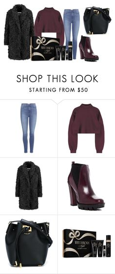 """Untitled #353"" by ema-jones ❤ liked on Polyvore featuring Paige Denim, Elizabeth and James, Charles David, Michael Kors and Elizabeth Taylor"