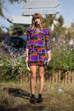 Paris Street Style Spring 2015 - Best Street Style Paris Fashion Week - Harper's BAZAAR ✿