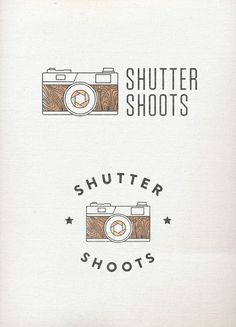 10.29.2012 | Logo for Shutter Shoots by Design Press #vintage #faded #hipster