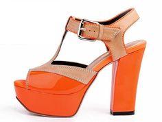 still loving orange shoes @ http://trendy-stilettoheels.blogspot.com