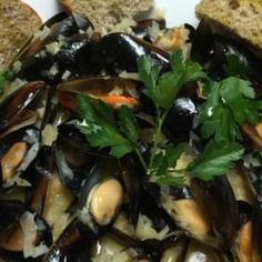 Mussels and Beer