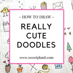 Draw hearts everywhere! Hearts are easy and fun to draw, plus they instantly put you in a good mood! Hundreds of heart doodle ideas you can draw now. Bullet Journal Tracker, Bullet Journal Themes, Bullet Journal Inspiration, Journal Ideas, Bullet Journals, Journal Prompts, Art Journals, Word Doodles, Cute Doodles