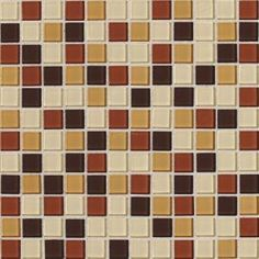 Daltile Isis Amber Blend 12 in. x 12 in. Glass Mosaic Wall Tile-IS2911MS1P at The Home Depot