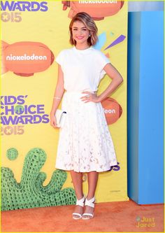 Sarah Hyland at the Kids Choice Awards 2015