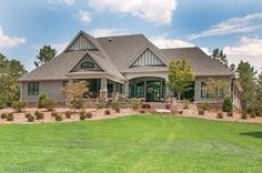 Craftsman Style House Plan - 4 Beds 4.00 Baths 3048 Sq/Ft Plan #929-1 Exterior - Rear Elevation - Houseplans.com