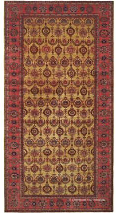 SAROUK - West Central Persian 8ft 10in x 16ft 10in Circa 1900
