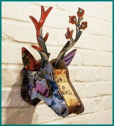 Inspiracje w moim mieszkaniu {Inspiration in my apartment}: Skandynawski motyw jelenia we wnętrzach/ Scandinav...