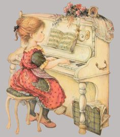 Lisi Martin - playing the piano