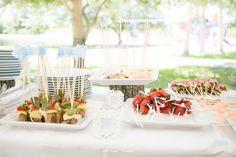 Picnic Wedding Food Ideas | More food ideas. | Picnic Wedding Food