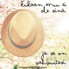 synttärikuva6 Lyric Quotes, Lyrics, Live Life, Panama Hat, Frozen, Happiness, Thoughts, Bonheur, Song Lyrics